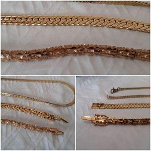 📿 Monet Classic Faux  Gold 3 piece set
